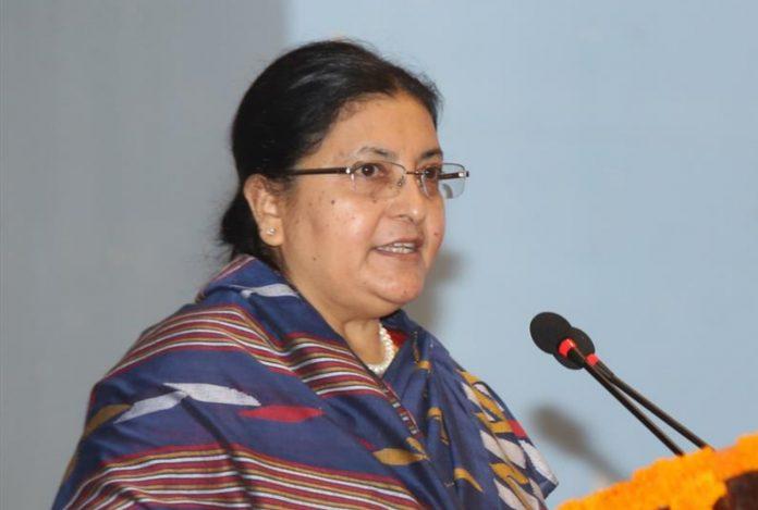 राष्ट्रपति विद्यादेवी भण्डारीद्वारा अन्तर्राष्ट्रिय महिला दिवसको शुभकामना व्यक्त